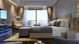 Corner 3 side open 3 BHK with huge balconies with huge club house