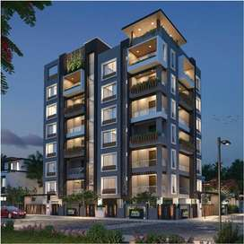 Luxurious 3 Bhk flat in Teachers colony