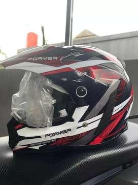 Cargloss Former Supermoto Helm Full Face Edge - EDGE SP WHITY WHITE