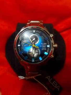 Jual jam tangan ALBA sign A limited edition