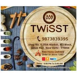 Selling TWISST Fast Food Restaurant Janakpuri Delhi Call 9&73&3939five
