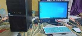 Acer i3 6 generation cpu 8gb ddr4 ram 1tb hdd very fast cpu