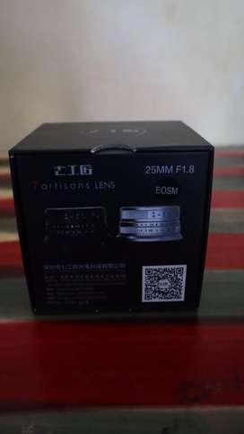 Lensa 7 artisans 25mm eos M