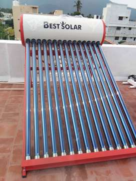 best solar water heater 16000 rs 5  years warranty