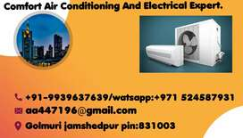 We are doing all type of ac services and repair.