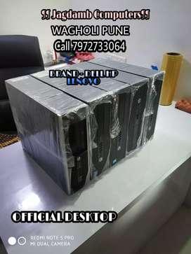DESKTOP CPU - CORE I3 I5 I7 - BRAND HP/ DELL