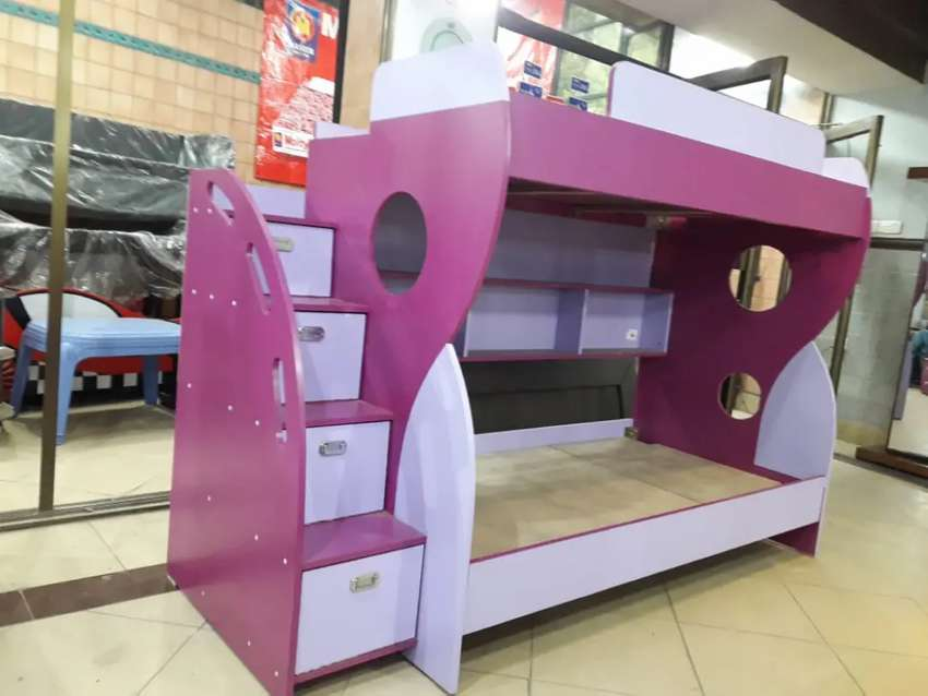 Beautiful brand new double bed for kids 0