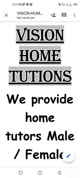 Home tutions/ language classes / digital course