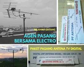 Kantor instalasi pasang signal antena tv digital