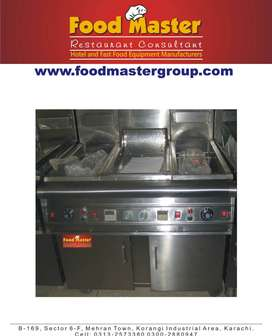 fryer and hot plate 20x40 new set