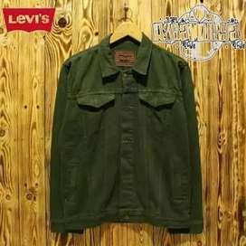 Jaket levis hijau army