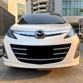 Mazda 2013 Biante Automatic Putih Mutiara Dp Murah