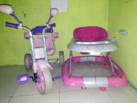 Gobrek roda dan sepeda anak