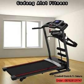 Fitclass treadmill elektrik sakura murah / jual treadmill murah