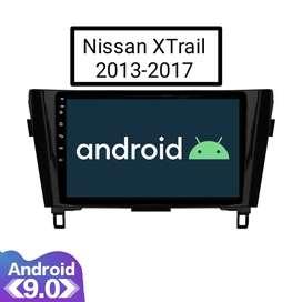"""Head Unit Android 10.1"""" untuk NISSAN X-TRAIL 2013  PnP Tinggal Pasang"""