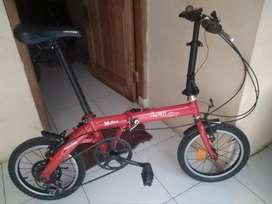 Sepeda Lipat Laux Milan