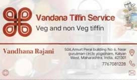 Veg and Non-veg Tiffin Service ( low cost with hygienic)