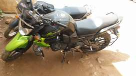 Yamaha fz green colour