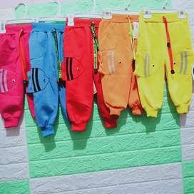 Celana joger ikan anak