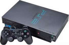 PS2 sony with 10 CD
