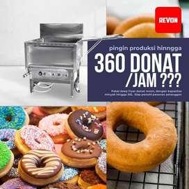 Deep Fryer Donat Alat Penggoreng Donat Otomatis Untuk Usaha makassar