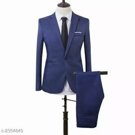 Catalog Name*Men's Stylish Solid Formal Suits