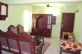 Furnished 3 BHK for rent at Kanjirumpara