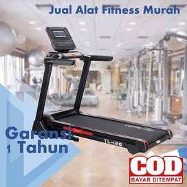 Treadmill Elektrik Total Fitness 4 hp TL 126 LIMITED EDITION