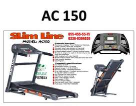 Slimline Ac150 Treadmill – Ac motor semi commercial Brand New Box Pack