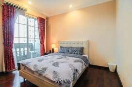 Apartemen Belleza Permata Hijau 3BR full furnish bisa bayar cicilan