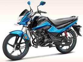 Splendor i smart 110 cc in Rs. 40000.