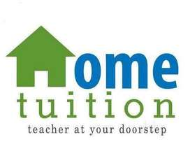 If u required a home tutor so available here