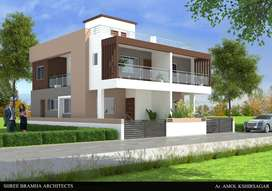 RAW HOUSES 3 BHK AVAILABLE IN WAGHOLI NEAR BY NAGAR HAGHWAY PUNE.