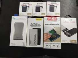 New and fresh powerbanks available @ low prices