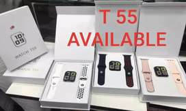 T55 Smart Watch Health/Fitness Watch |Calling Feature|