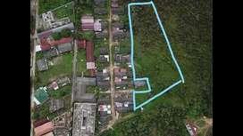tanah kaplingan depan kampus UNSRI