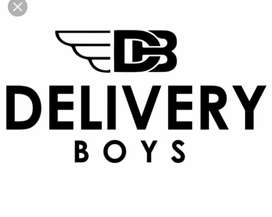 Part time Delivery Boys required 10000+ salary package time 5pm to 11p