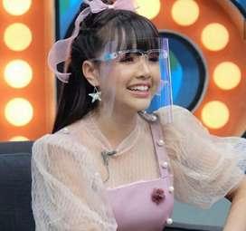 Face Shield Kacamata APD Kesehatan Nagita Artis Berkualitas Ready stok