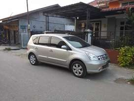 Dijual Nissan Livina XR metik 2009 pajak panjang