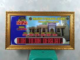 Produsen Jam Masjid Digital Advanced Mini Siap Kirim Masjid Anda