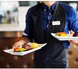 Service Boy Or Girl for restaurant