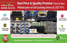 Gaming Consoles PS4,PS3,PS2,XBOX1/360/X/S,Nintendo& LED TVs Unbeatable