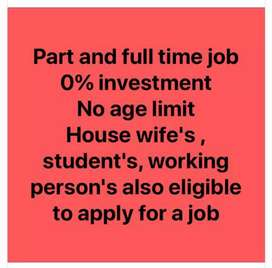 Full and part-time job