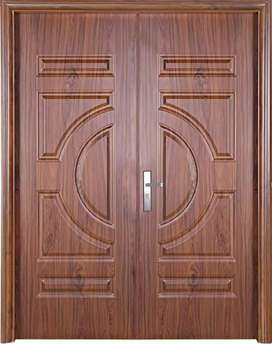Imported wood door