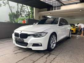 Bmw 335i M-performance white on brown