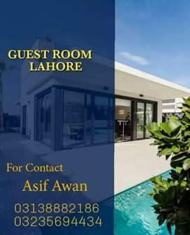 GUEST HOUSE IN LAHORE PAKISTAN.