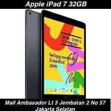 { Kreditan/Cash Bisa } Tablet Apple iPad 7 32GB ( WiFi Only ) Call?Wa?