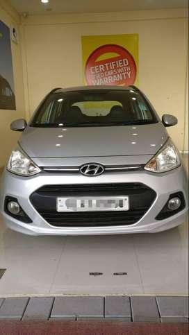 Hyundai Grand I10 Sportz 1.2 Kappa VTVT, 2015, Petrol
