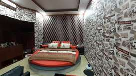 Wallpaper - Lantai Kayu - Gorden - Gordyn - Kasa Nyamuk Double Magnet