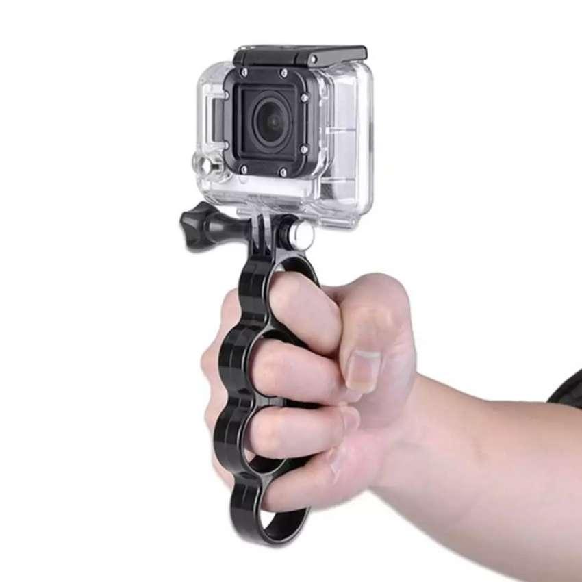 HS Action cam knuckles fingers grip for Sjcam gopro yi xiaomi 0